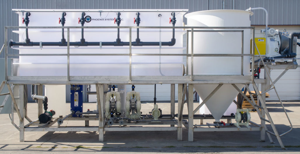 Sulfuric acid recovery system